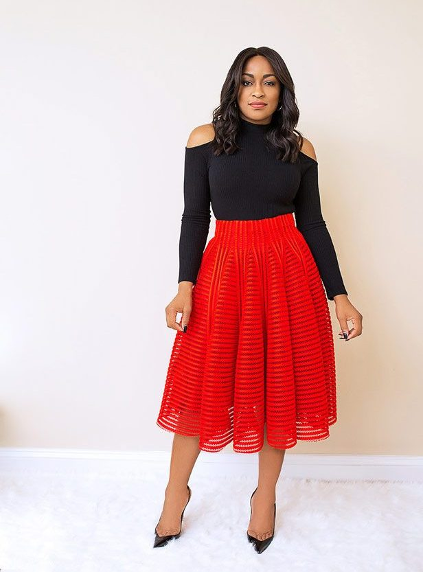 Marilyn Red Skirt
