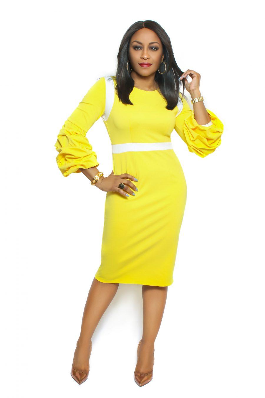 Kate Yellow Dress