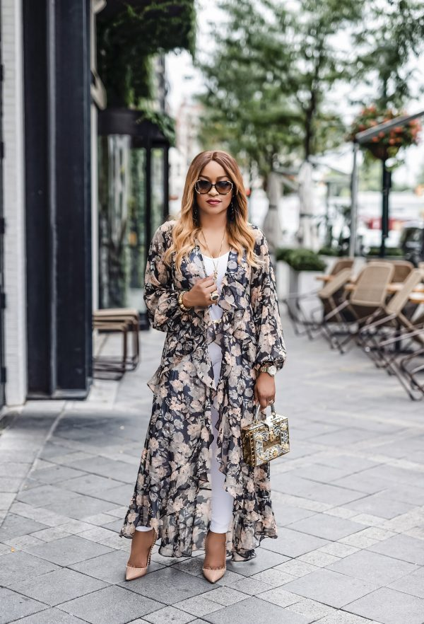 Monique Floral Duster